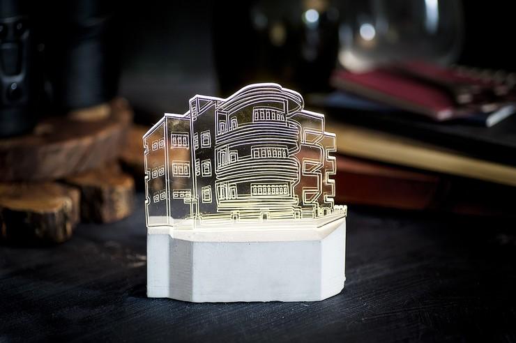Bauhaus Lamp