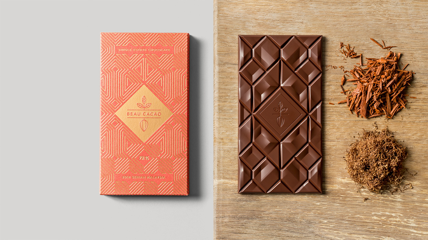 A Beautiful Geometric Chocolate Bar That S Too Lovely To Eat