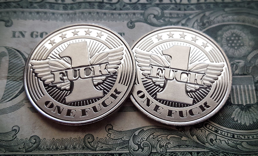 Flying Fuck coin