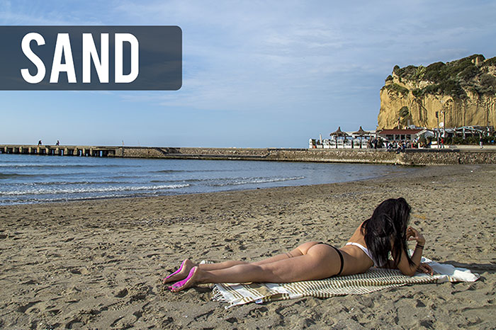 NakeFit stick-on soles let you go barefoot on the sand