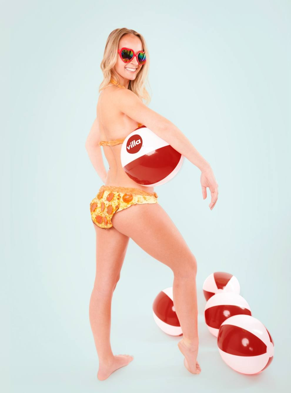 You can buy this bikini made from real pizza for $10,000