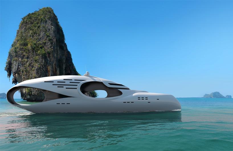 A' Design Award winner: Infinitas Mega Yacht by Schopfer Yachts
