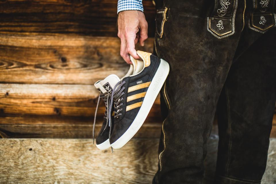 a69e0a735f4a Adidas beer and vomit-proof shoes for Oktoberfest