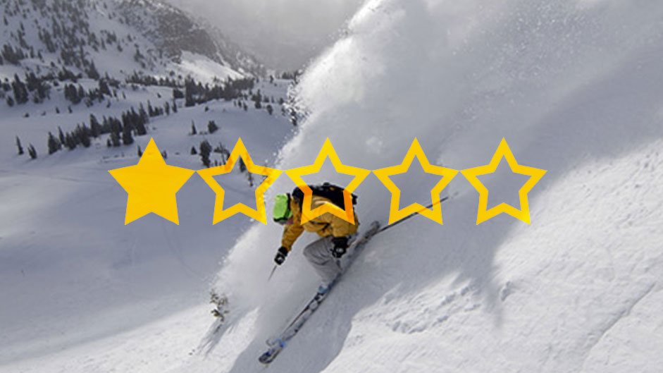Snowbird ski resort cleverly uses 1-star review in its ad