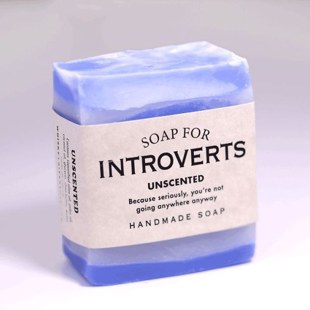 Company makes humorous soaps for introverts
