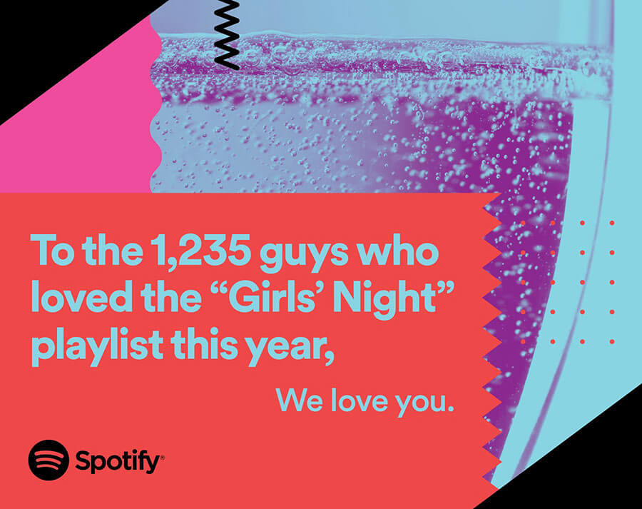 It's a fine line between creepy and creative advertising: Spotify