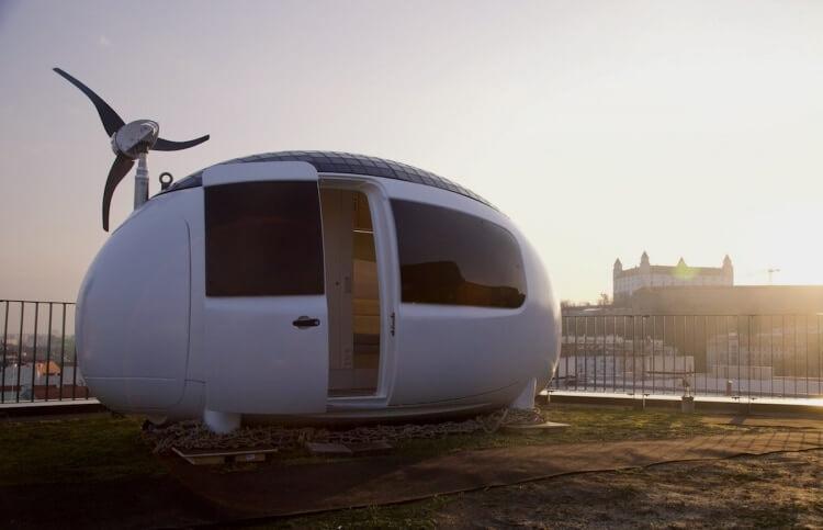 Ecocapsule: The futuristic self-sustainable micro-home