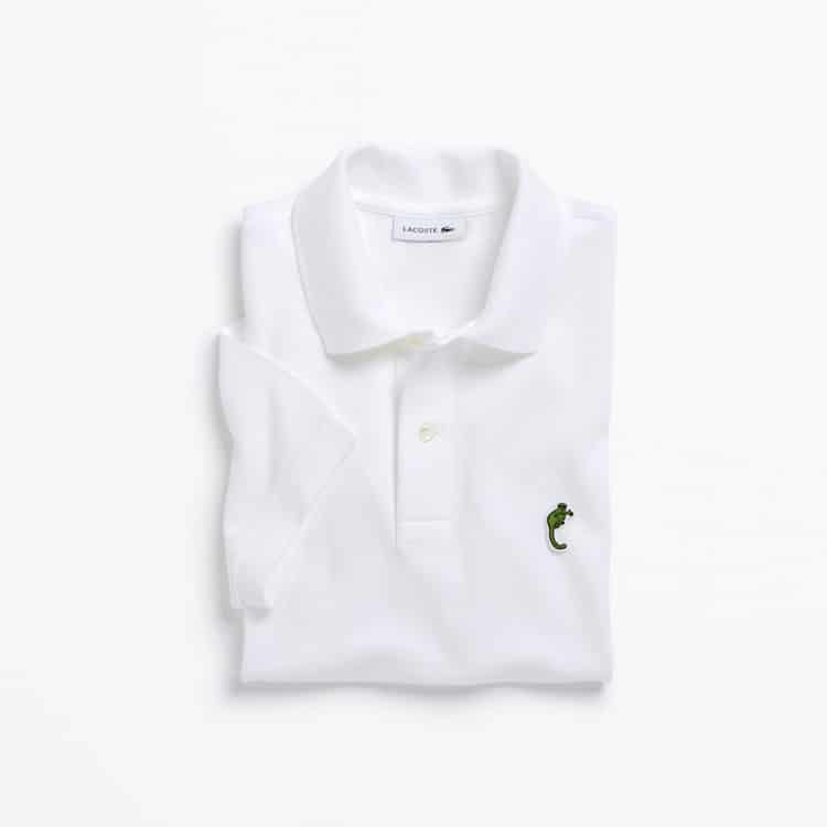 Limited Edition Lacoste Endangered Species Polos: Cao Vit Gibbon