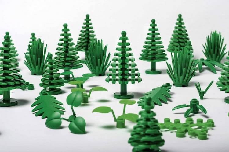 LEGO to launch first ever plant-based plastic pieces