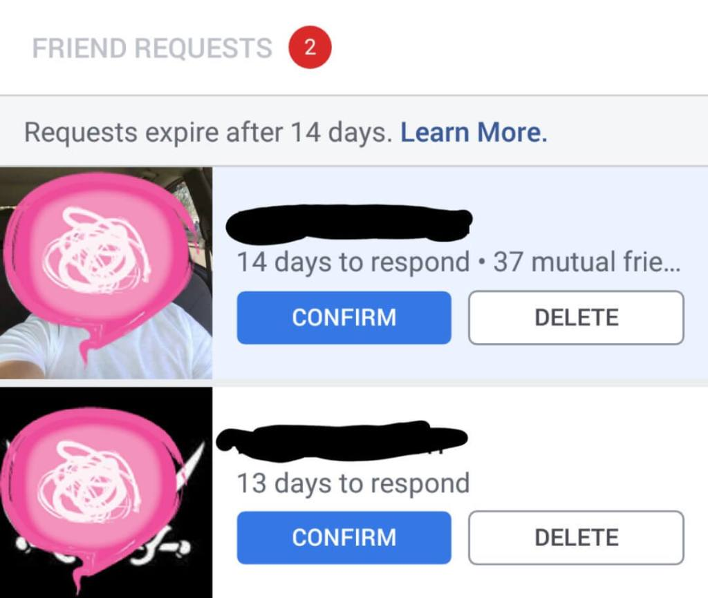 Facebook is testing expiring friend requests