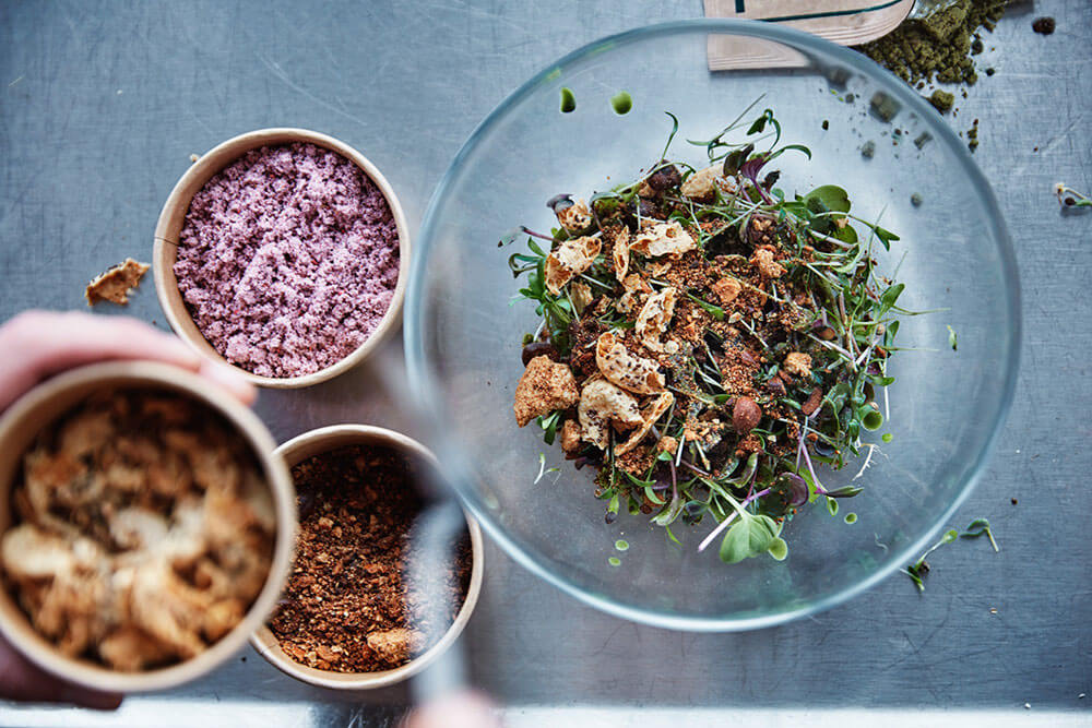 Lokal Salad: IKEA is experimenting with adding bugs to food