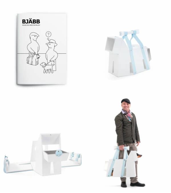 BJÄBB by IDEA, an IKEA parody