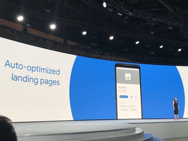 Google digital marketing update: Auto-optimized Websites and Landing Pages