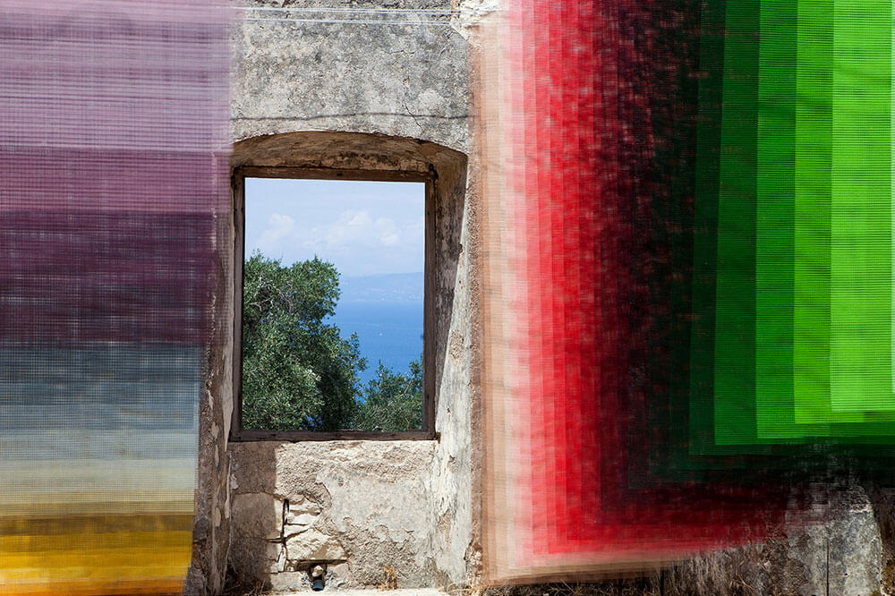 Quintessenz Pixelated Art Installation: Paxos Contemporary Art Project