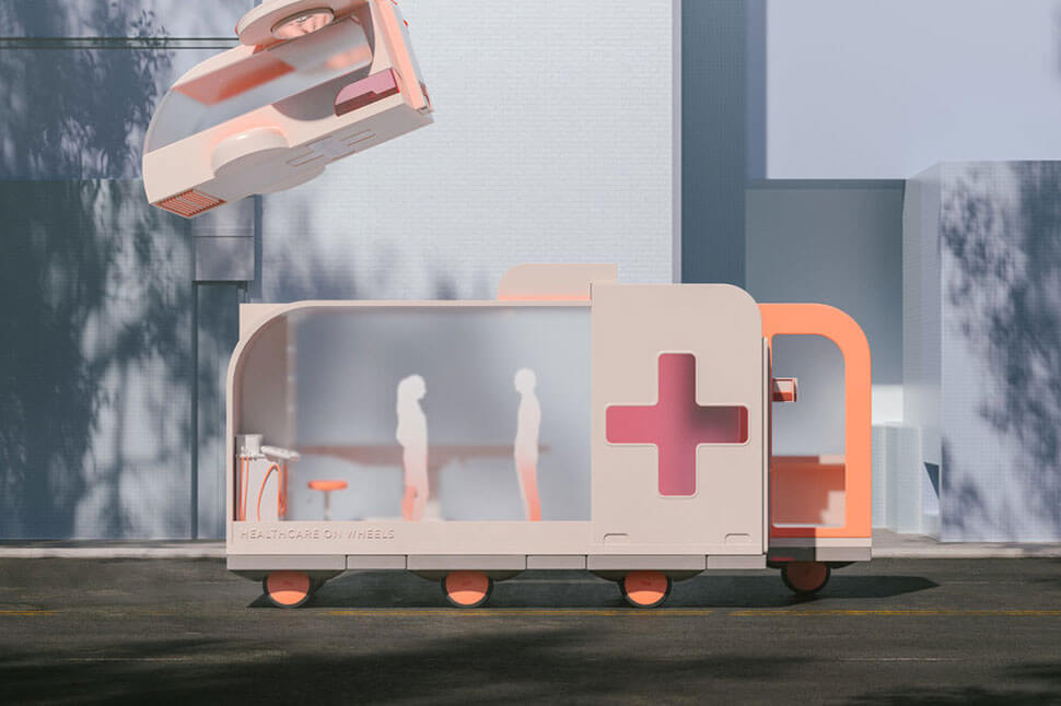IKEA self-driving cars: Healthcare on Wheels