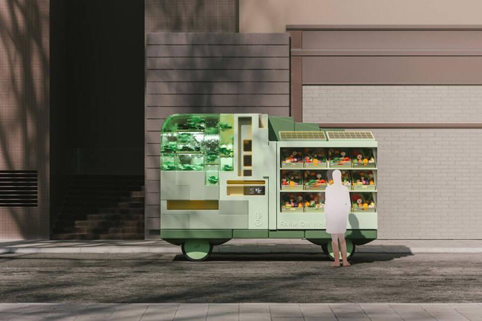 IKEA self-driving cars: Farm on Wheels