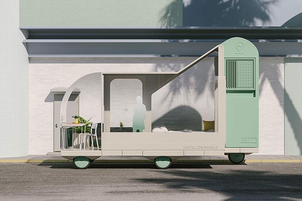 IKEA self-driving cars: Hotel on Wheels