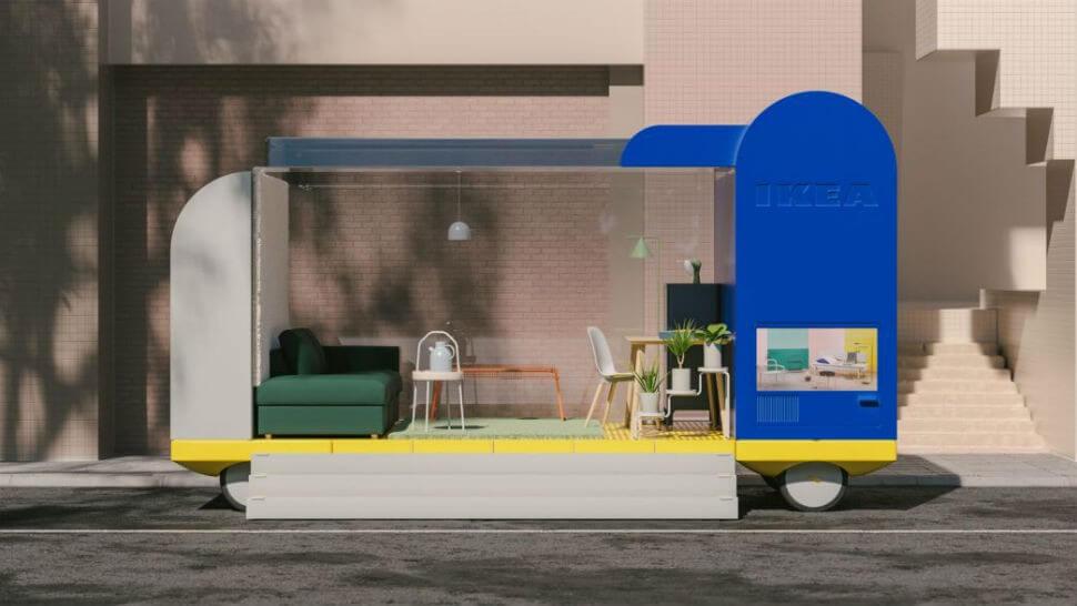 IKEA self-driving cars: Shop on Wheels