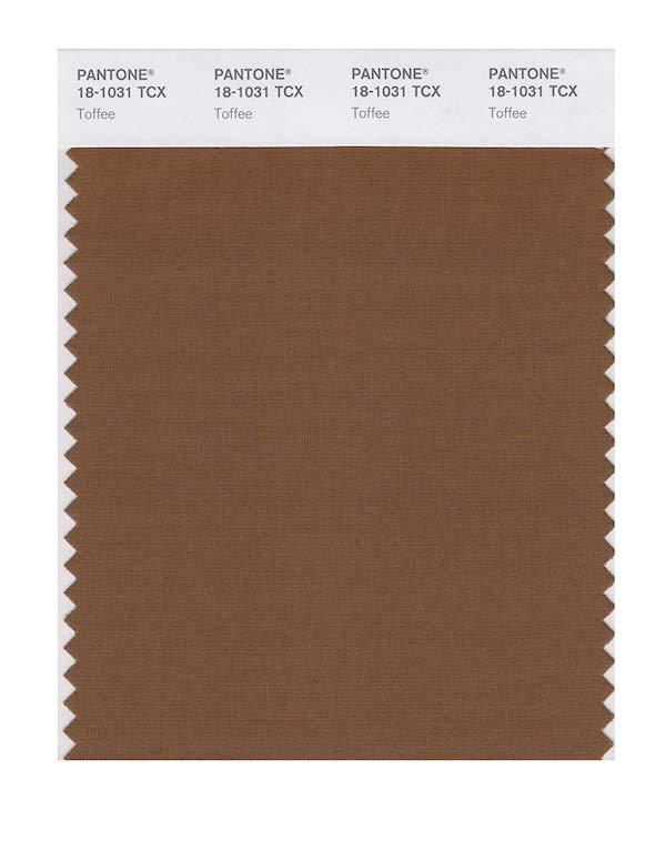 Pantone fashion trend report on Spring/Summer 2019: Toffee
