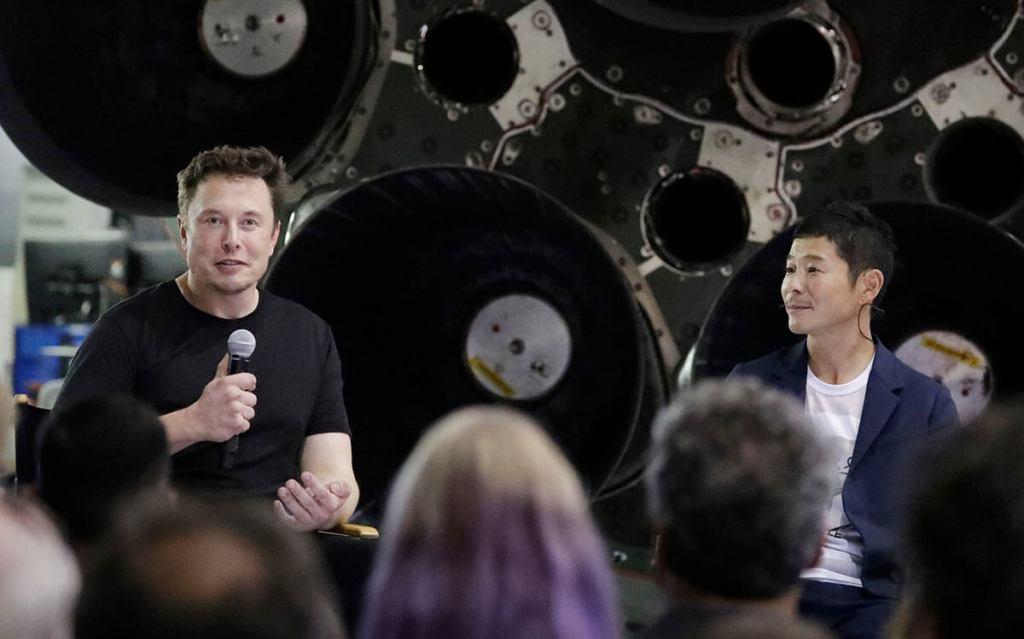 Elon Musk & Yusaku Maezawa