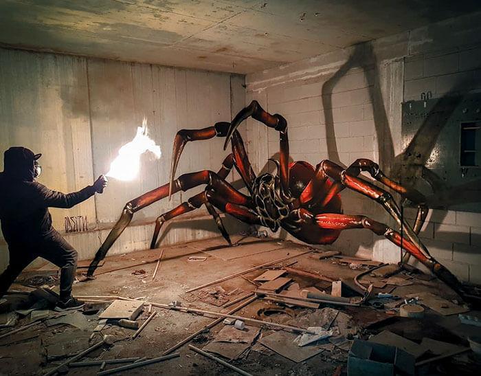 Discover Surreal 3d Graffiti By Sergio Odeith Daniel Swanick