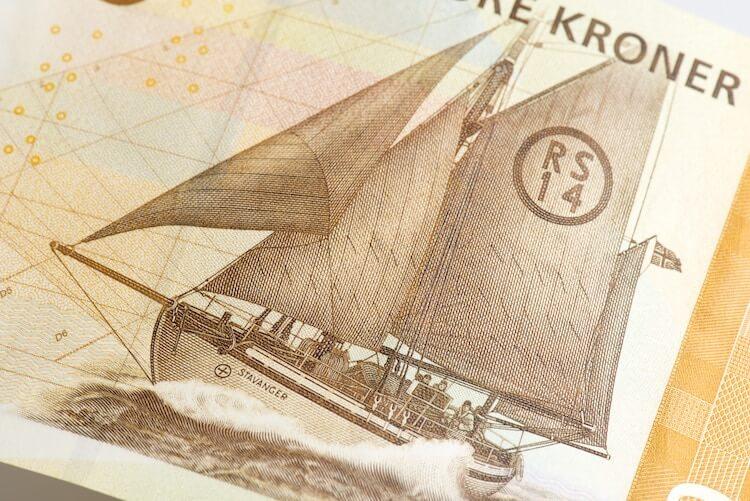 Norway's 500 kroner banknotes