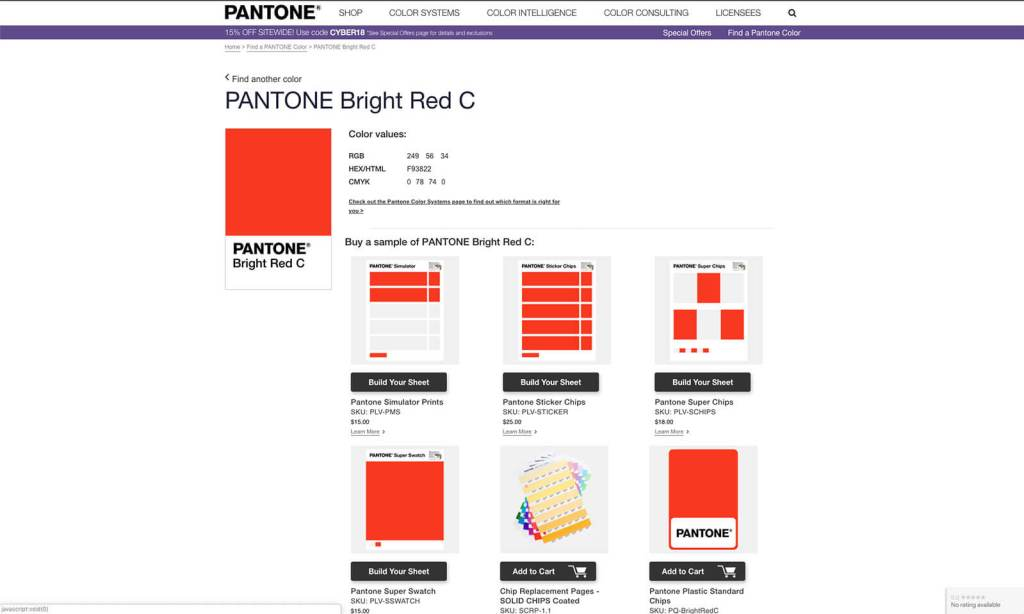 Pantone's new colour finder helps you find the right hues