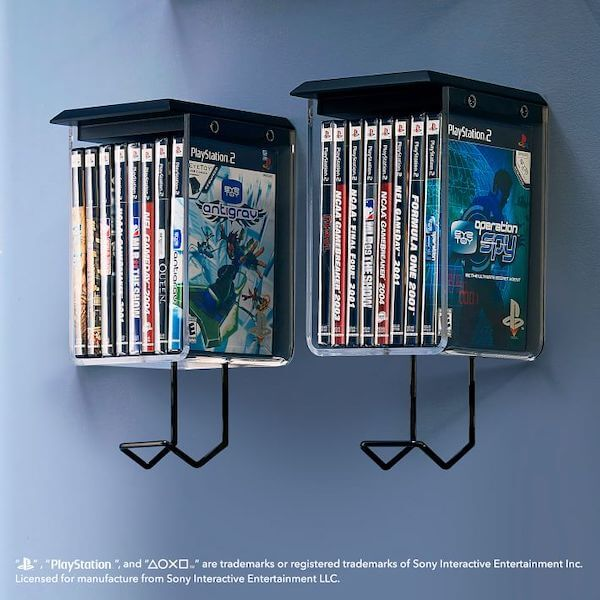 Sony PlayStation furniture: Acrylic Cubbies