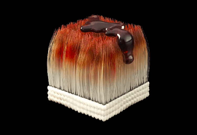 3D-printed custom sushi based on diner's urine, saliva or stool samples