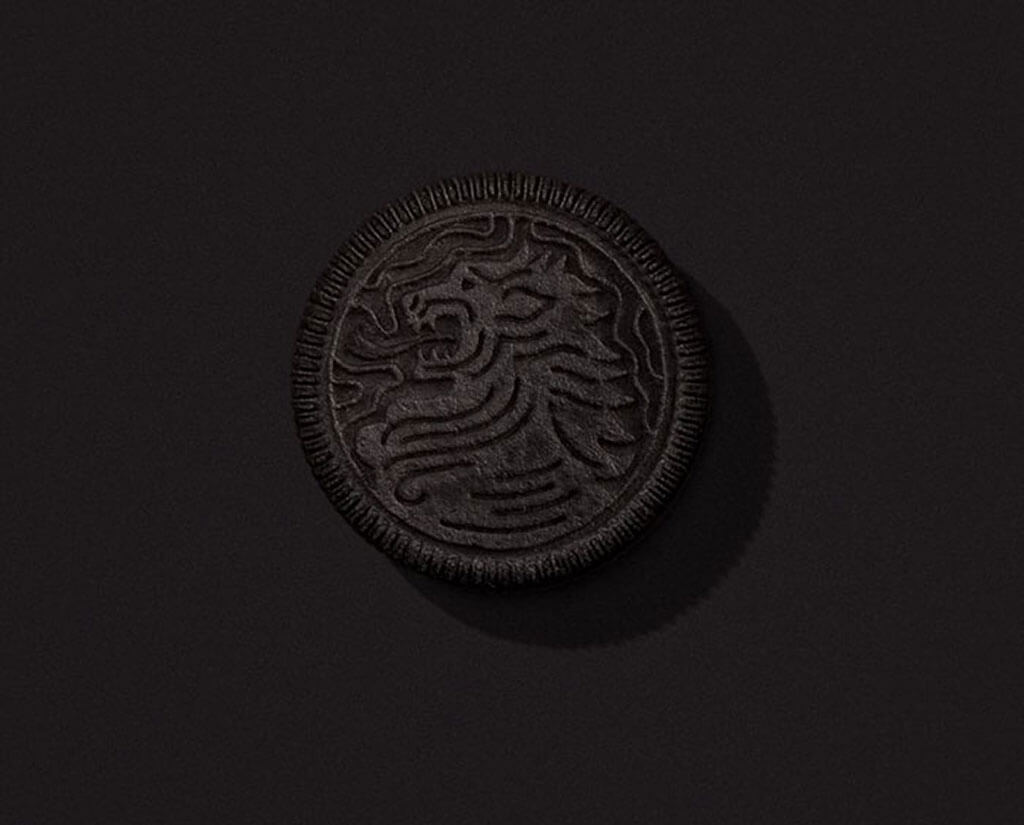 HBO & Oreo Game of Thrones cookies