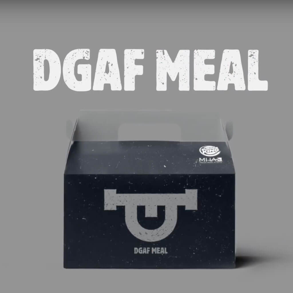 The Real Meal: DGAF
