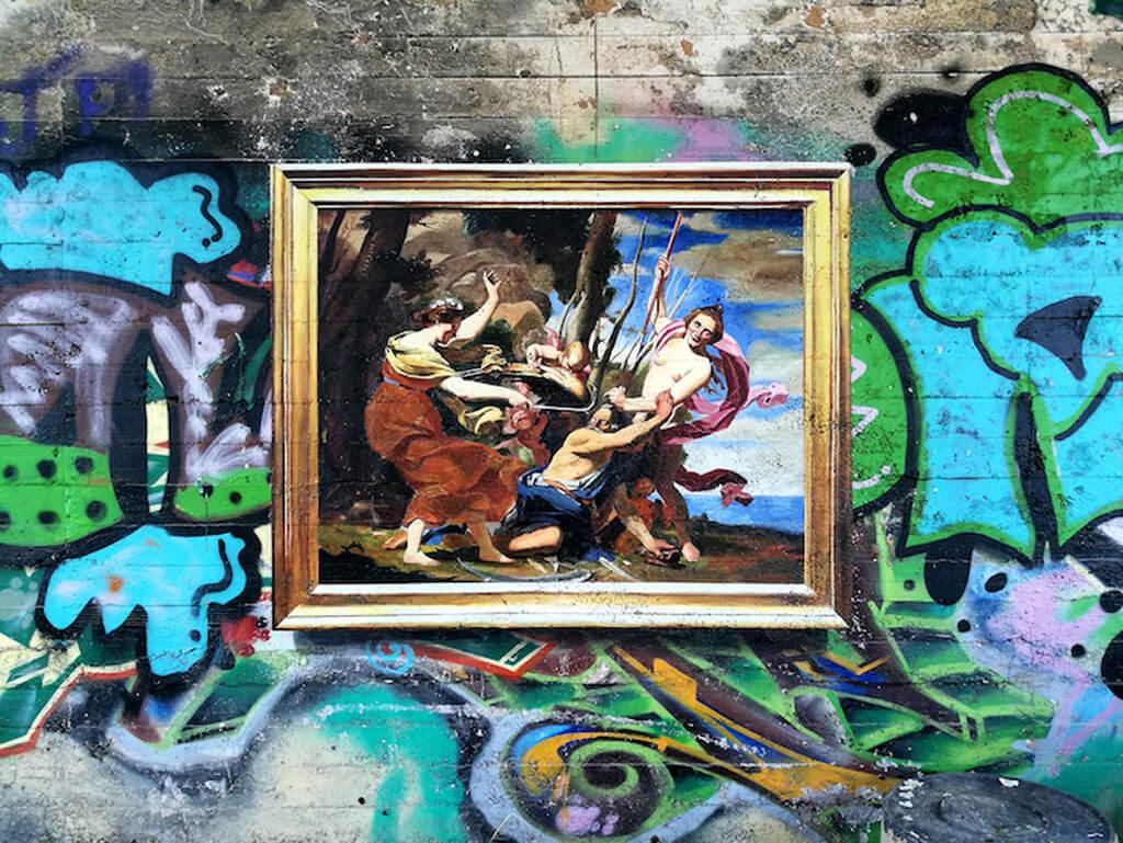 Julio Anaya Cabanding street art masterpieces