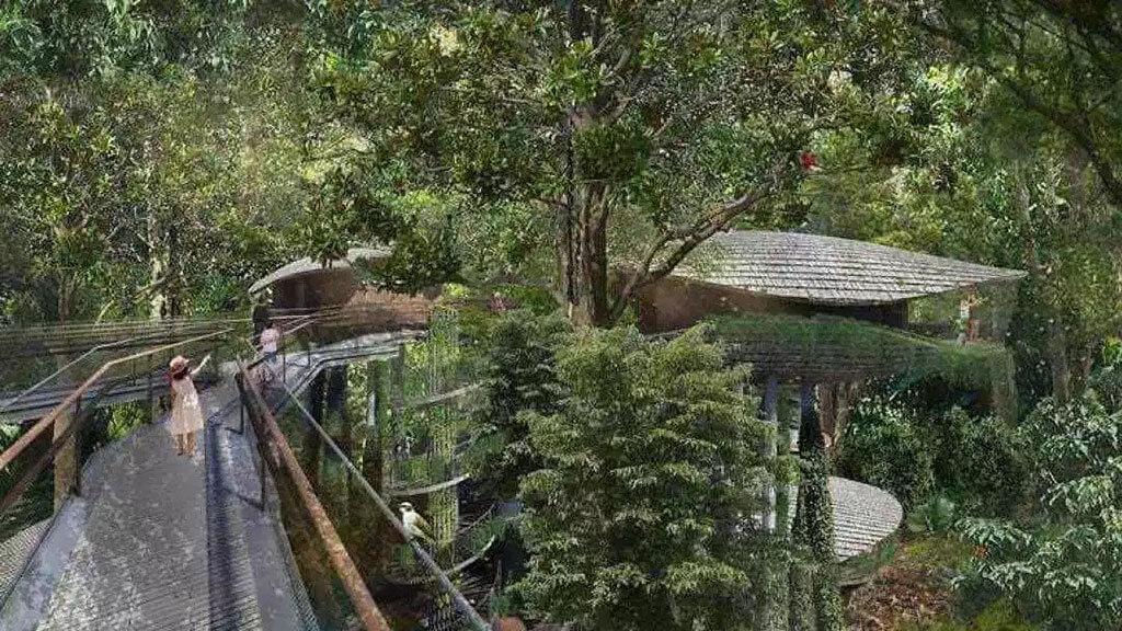 Mandai eco-friendly resort in Singapore