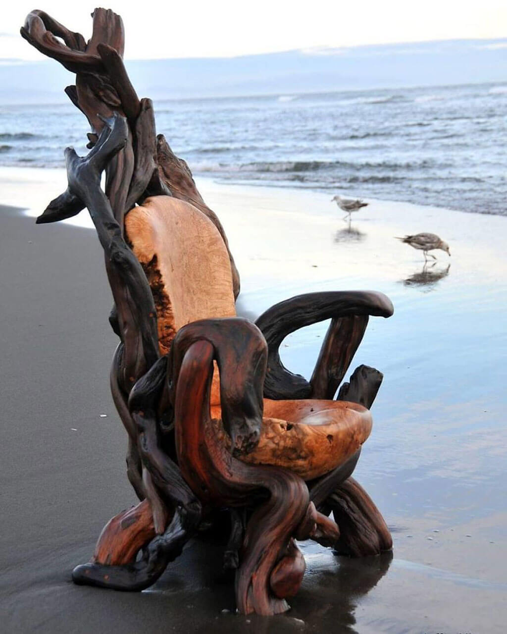 Chair sculpture by Jeffro Uitto