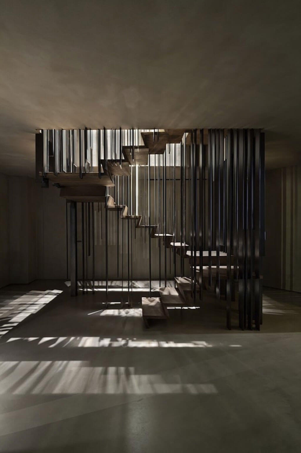 Staircase designs make use of lines in innovative ways