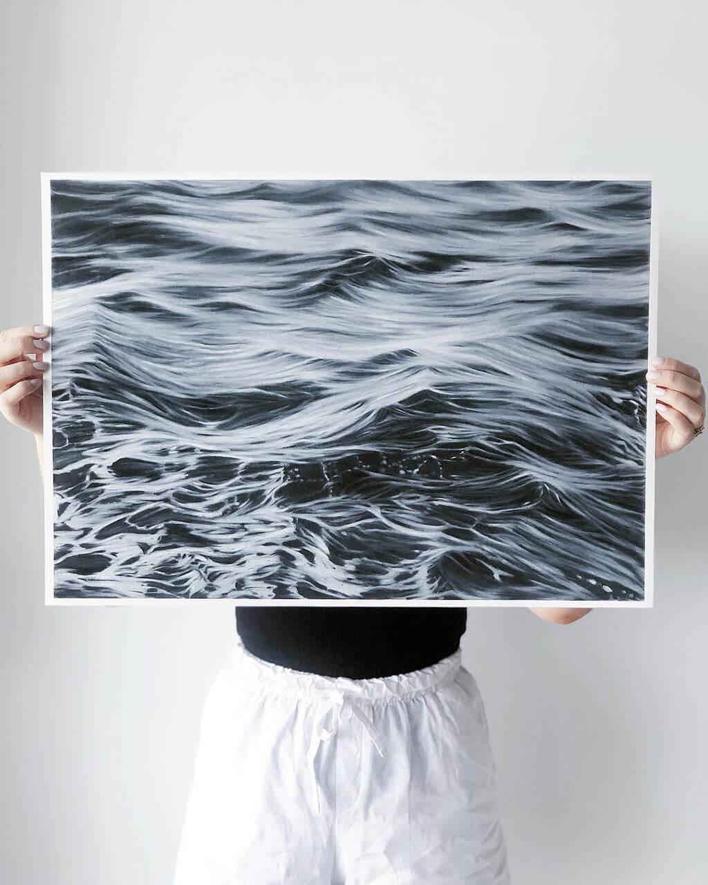 Hyper-realistic-pencil drawings