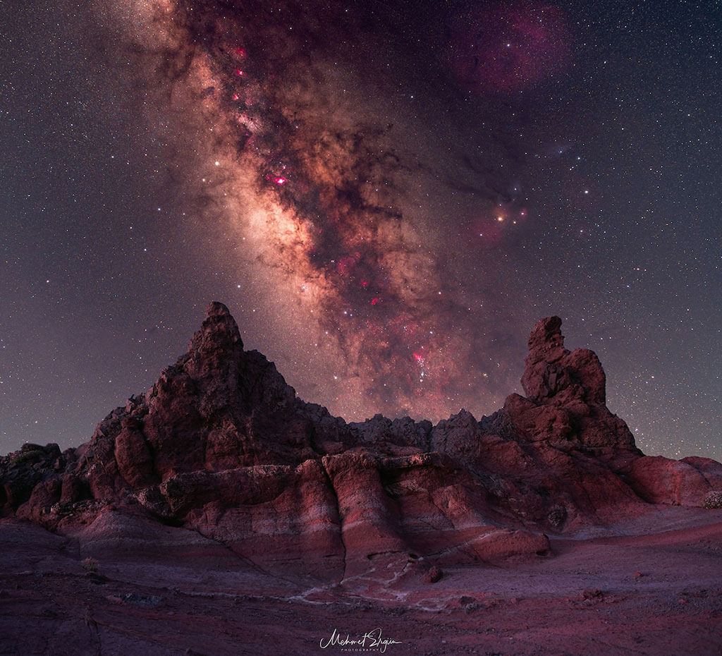 """Milky Way over Parque Nacional del Teide"""