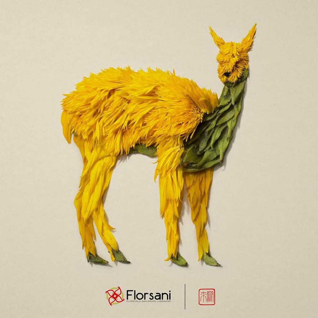 Ikebana-inspired creations