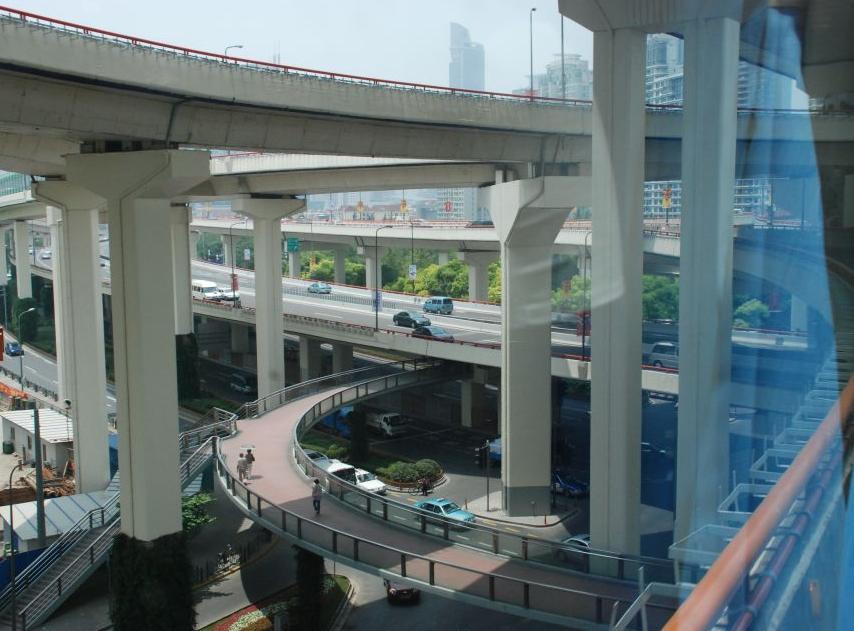 Shanghai city roads