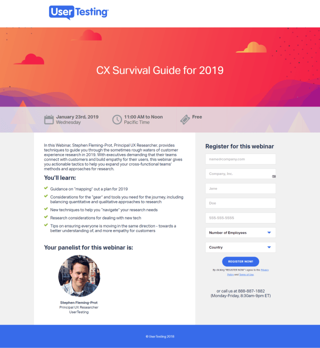 The 14 Best Webinar Landing Page Examples & What They Get Right