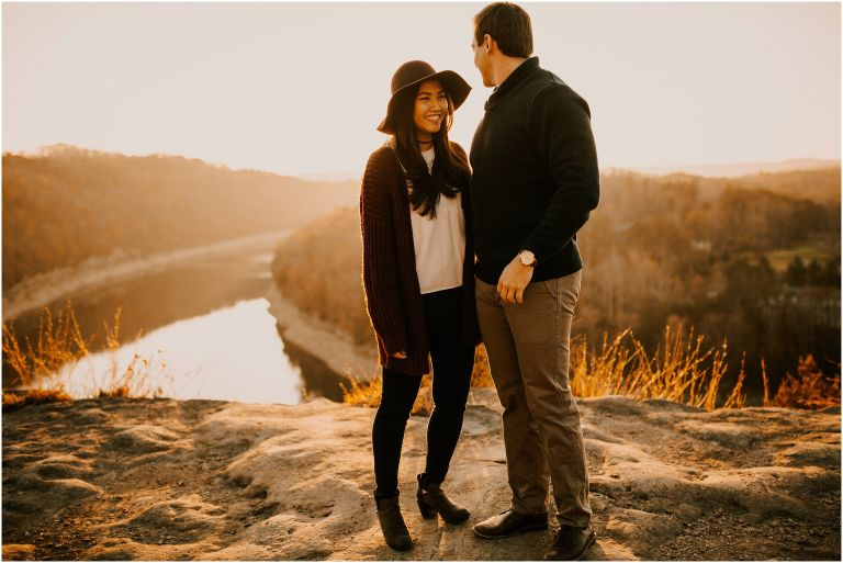 Kentucky Sunset Engagment Session