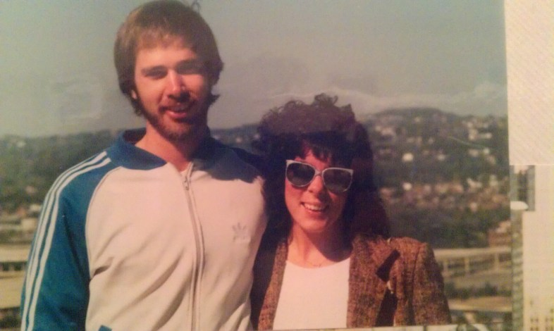 Mom and Dad, back in the day