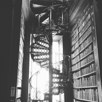 Trinity College Library - Staircase