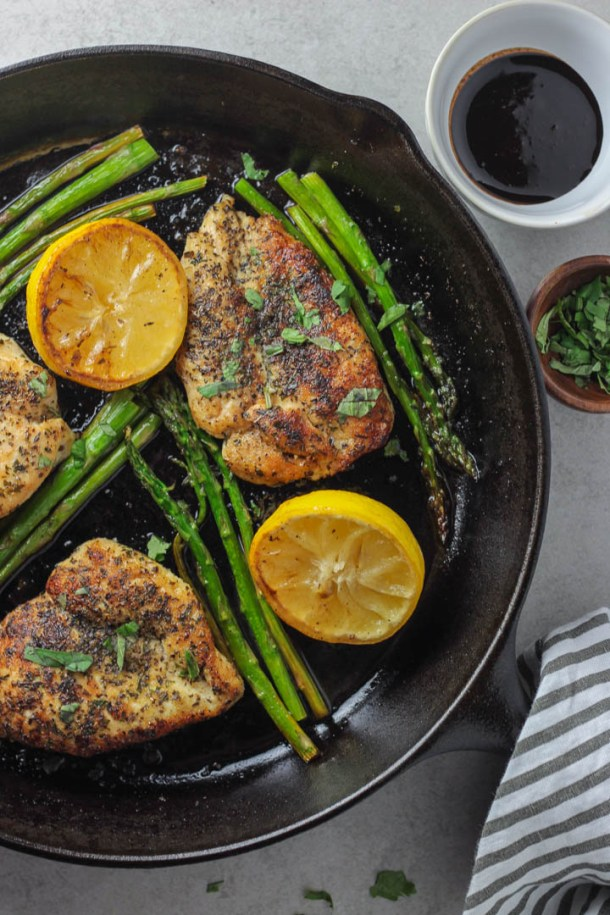 chicken and asparagus_