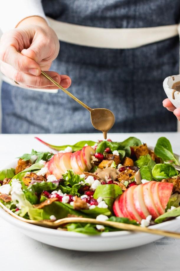 Fall Harvest Salad -1-2