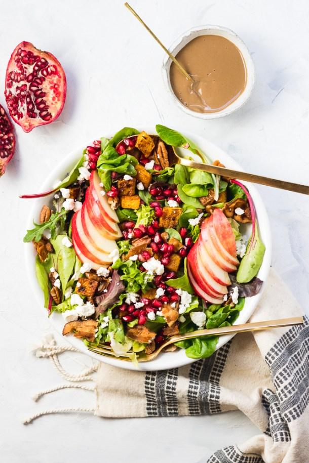 Fall Harvest Salad -1-4