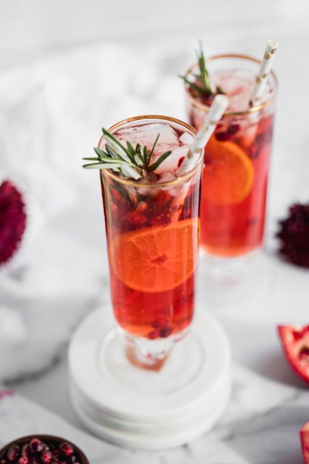 Pomegranate Aperol Spritz