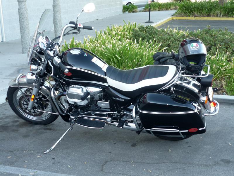 The 2008 Moto Guzzi California Vintage