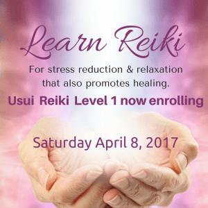 Reiki Class Level 1