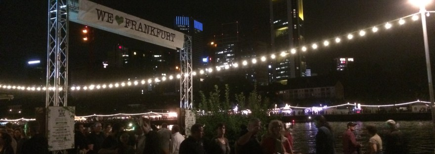 Das Museumsuferfest Wiesbaden Und Besuch Aus Hannover Dan In